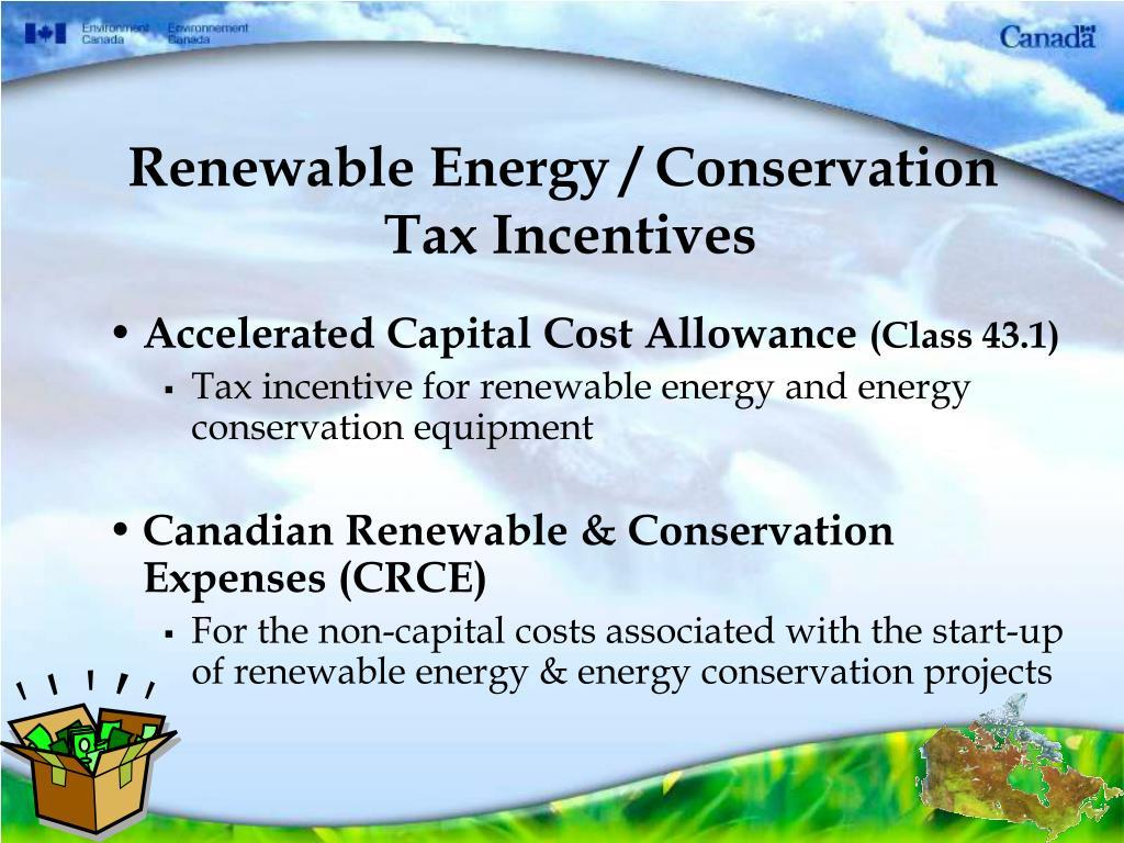 Renewable Energy / Conservation