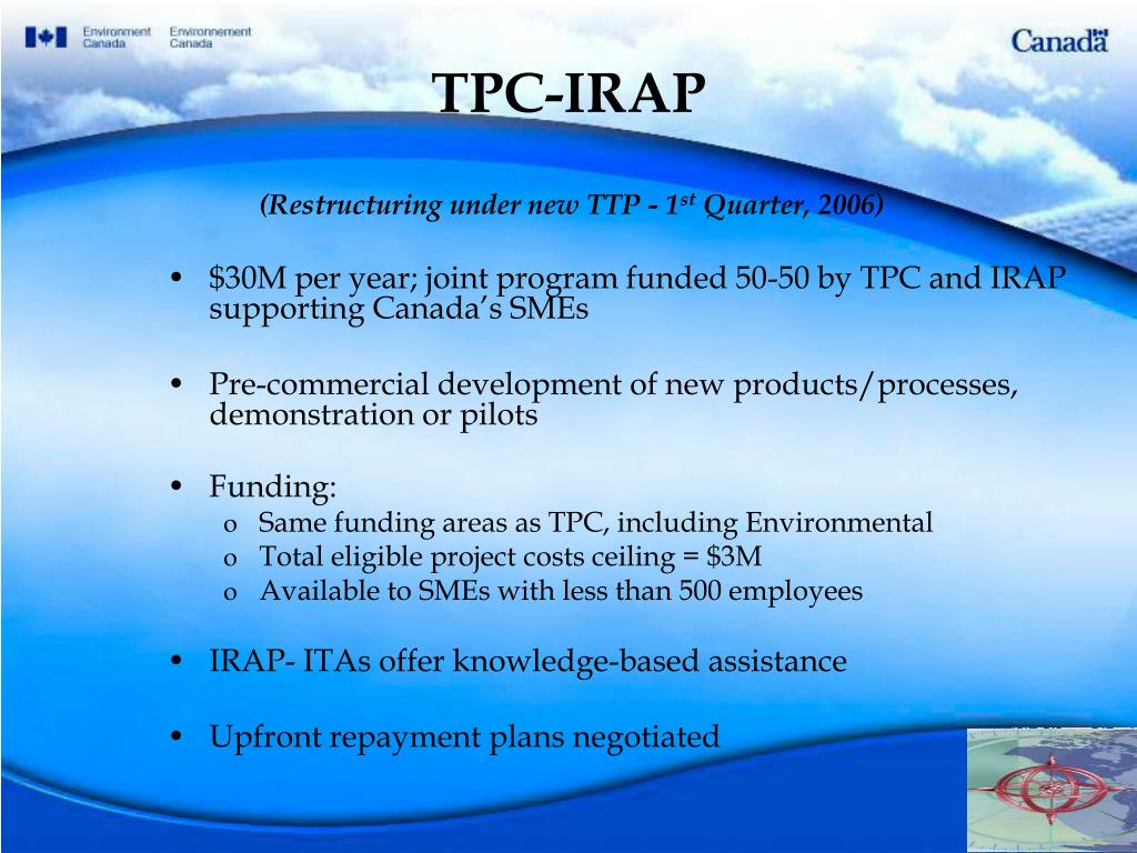 TPC-IRAP