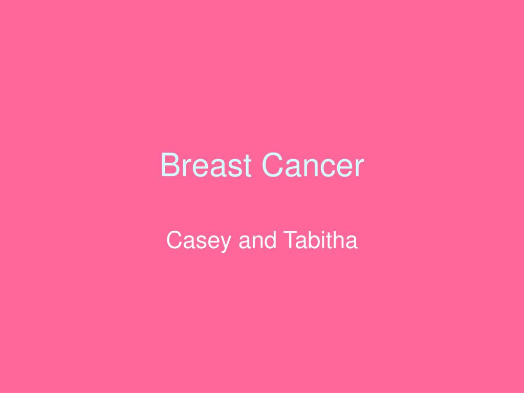 breast cancer l.