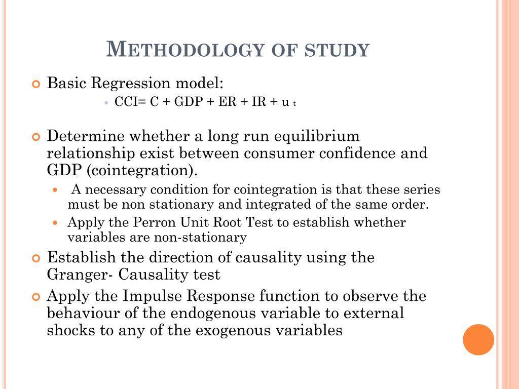 Methodology of study