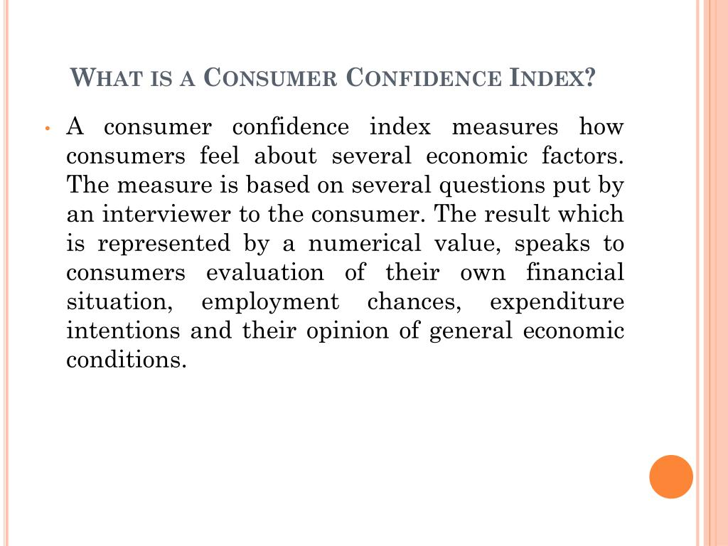 What is a Consumer Confidence Index?