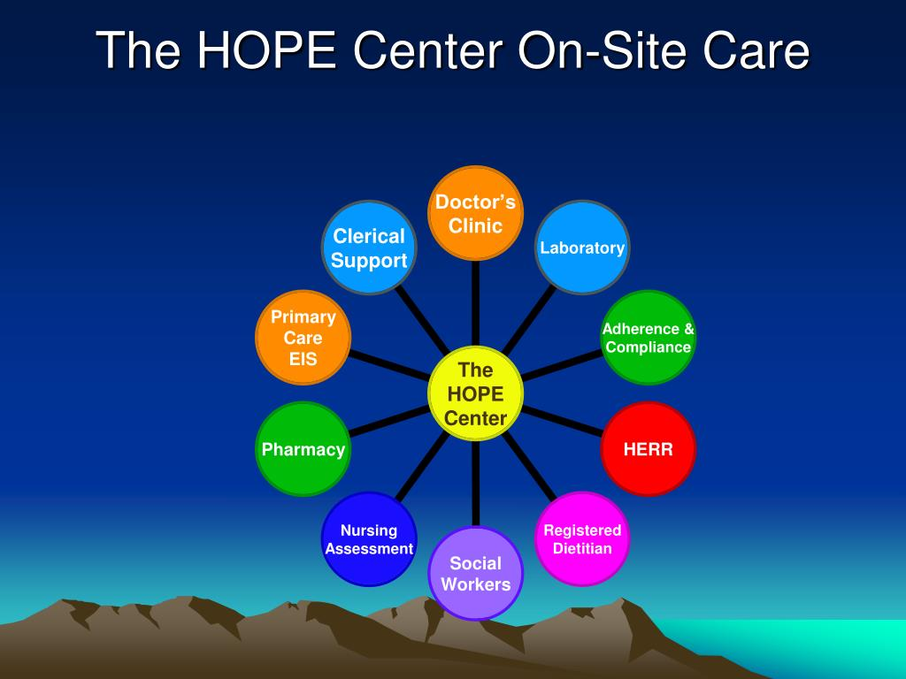 The HOPE Center On-Site Care