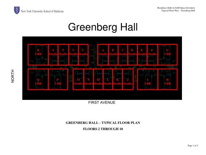 Greenberg hall