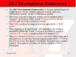 hl7 development framework