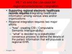 hl7 v3 and the use case for regional jurisdictional integration