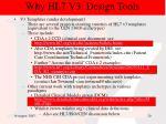 why hl7 v3 design tools17