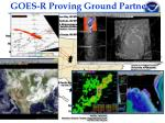 goes r proving ground partners