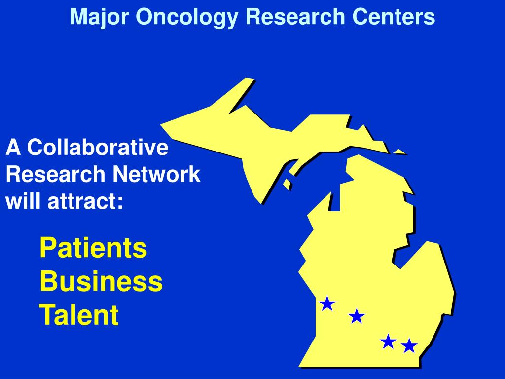 Major Oncology Research Centers