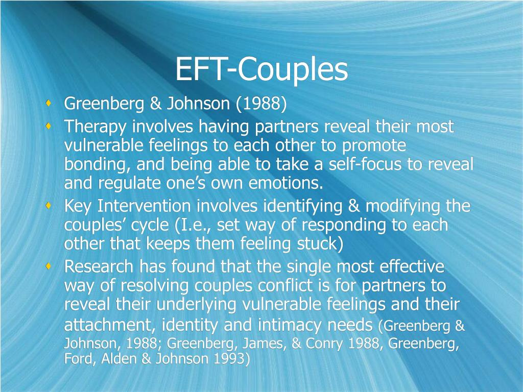 EFT-Couples