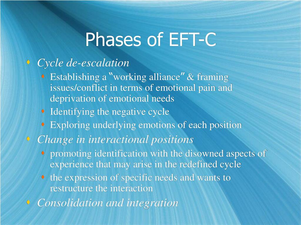 Phases of EFT-C