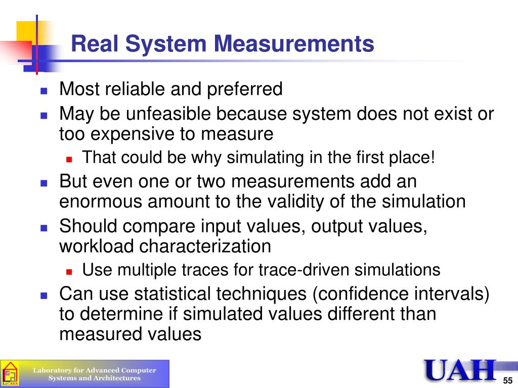 Real System Measurements