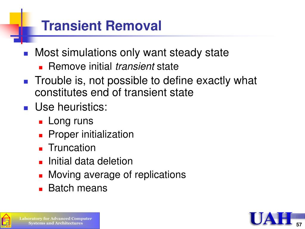 Transient Removal