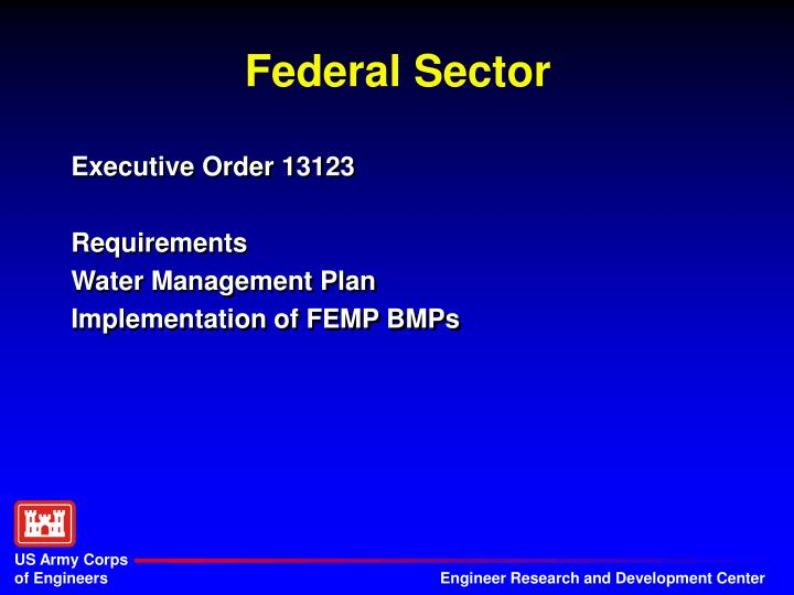 Federal sector