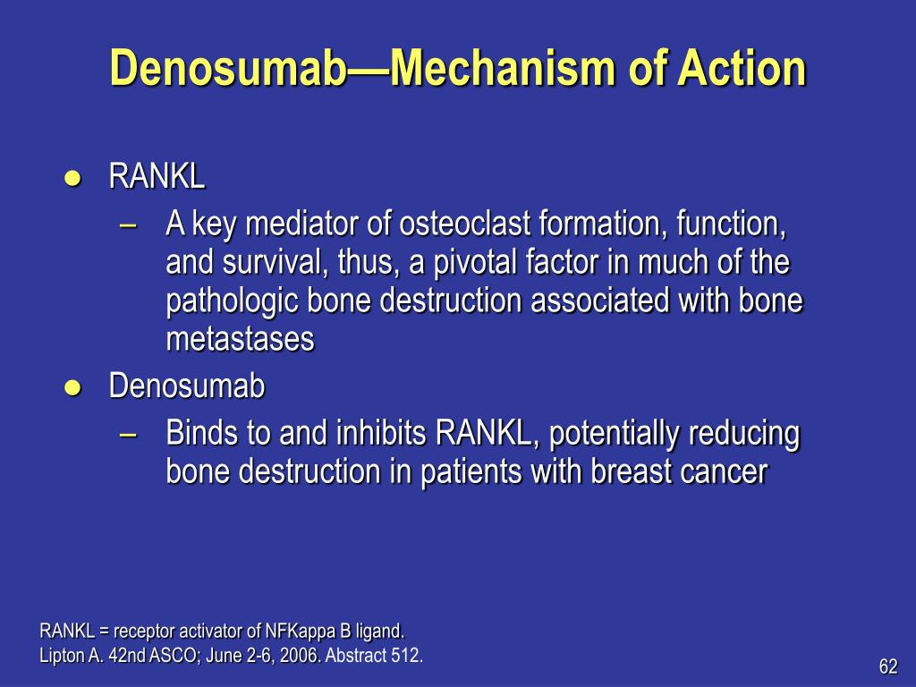 Denosumab—Mechanism of Action