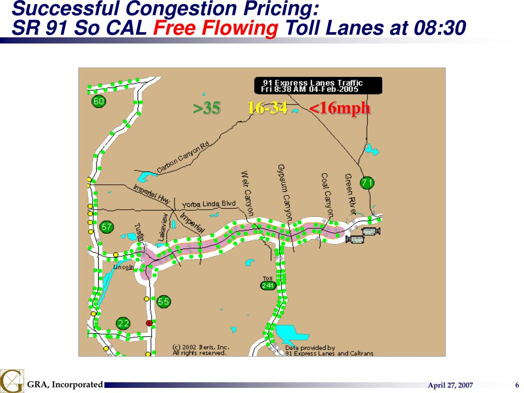Successful Congestion Pricing: