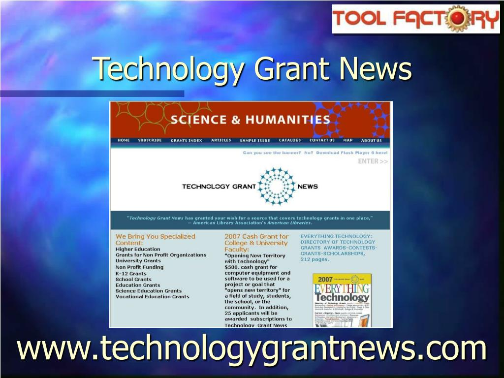 Technology Grant News