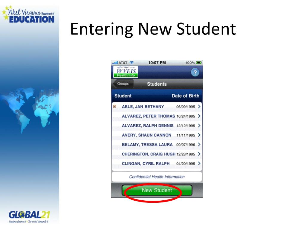 Entering New Student