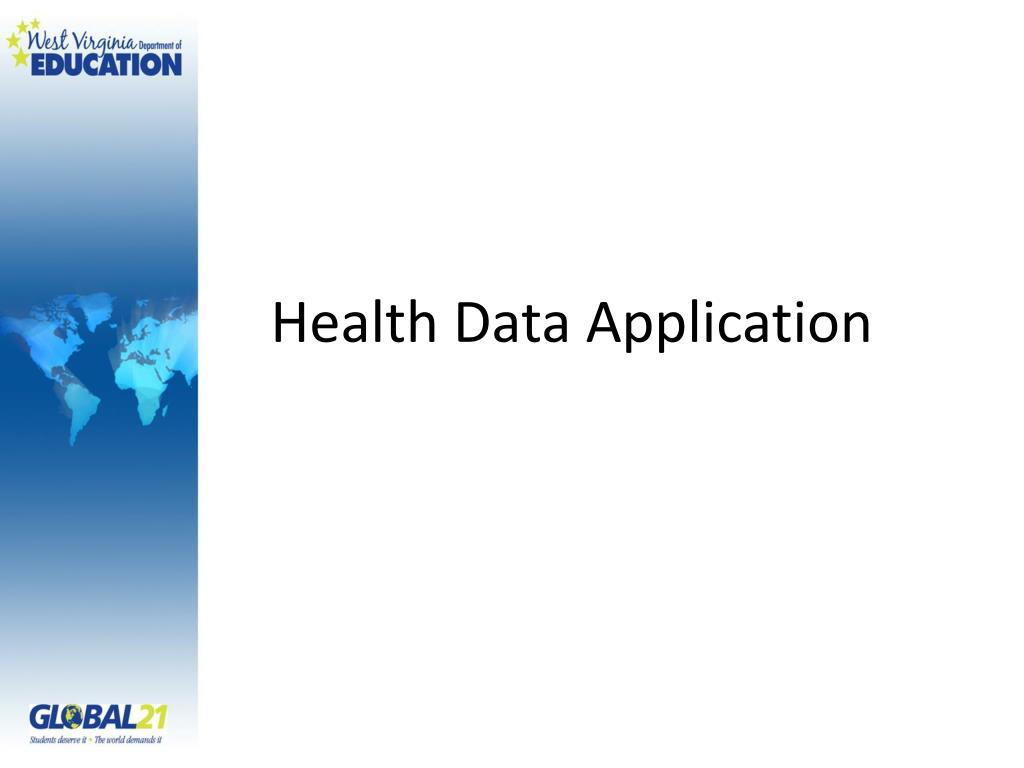 Health Data Application