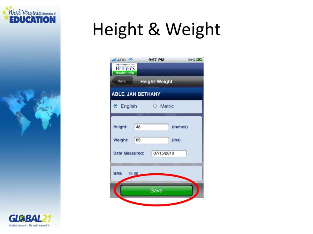 Height & Weight