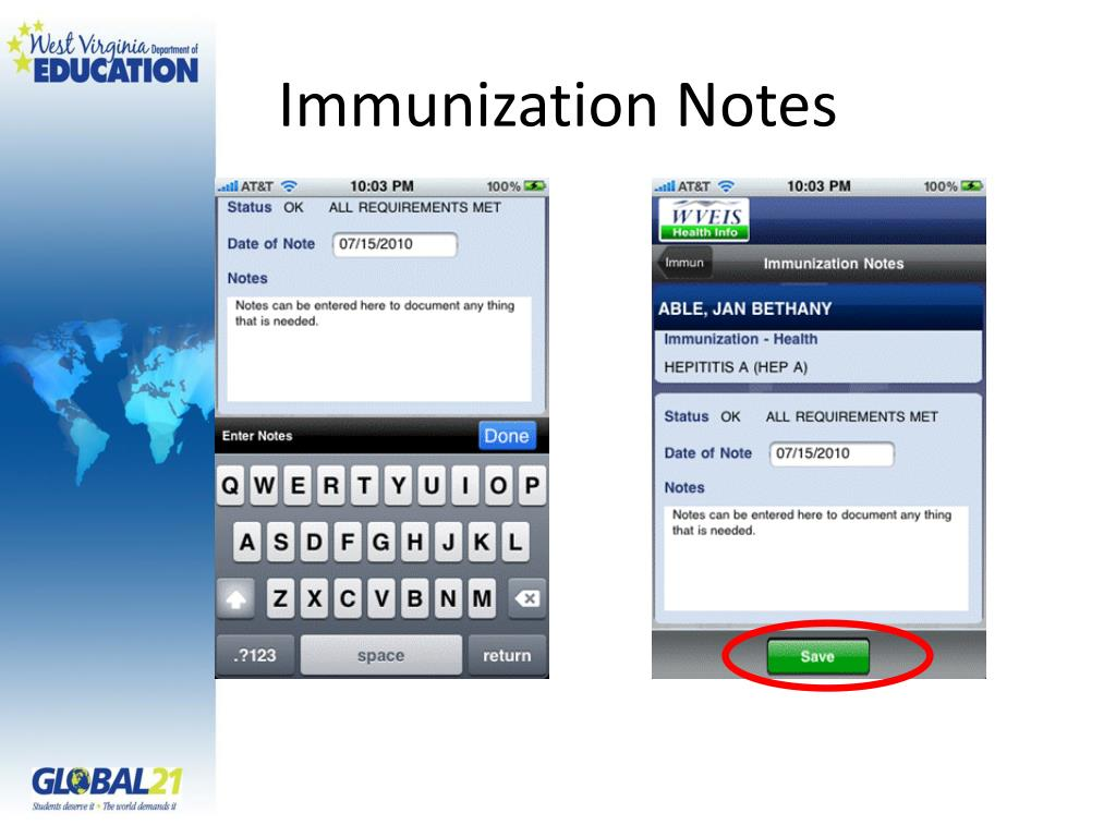 Immunization Notes