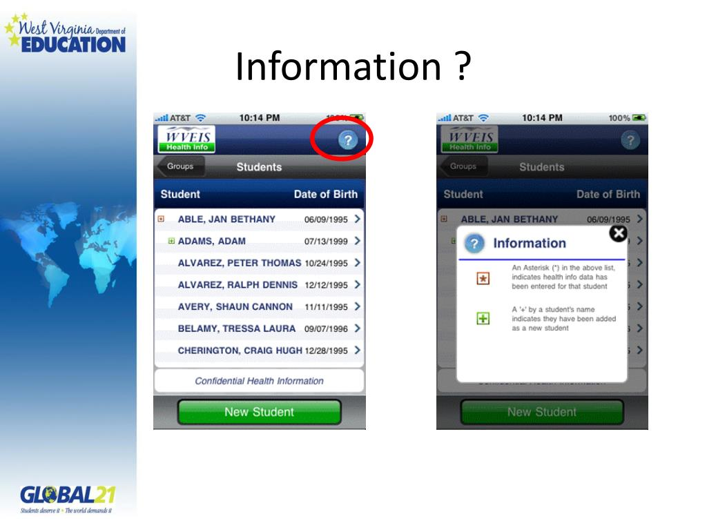Information ?
