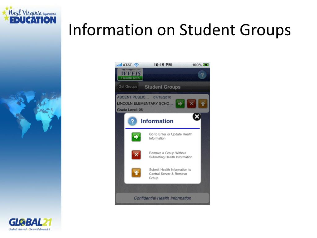 Information on Student Groups