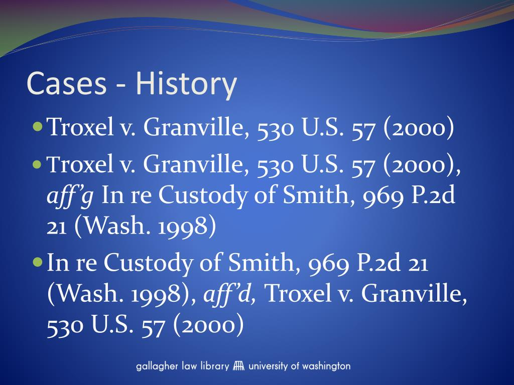 Cases - History