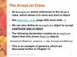 the arraylist class37