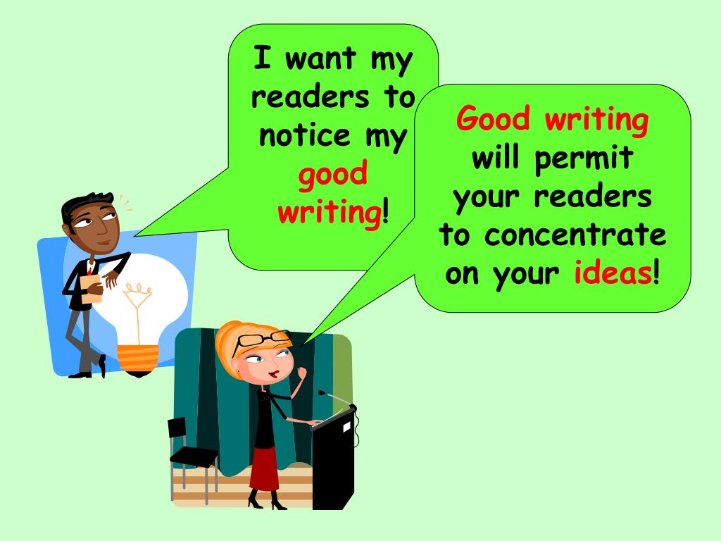I want my readers to notice my