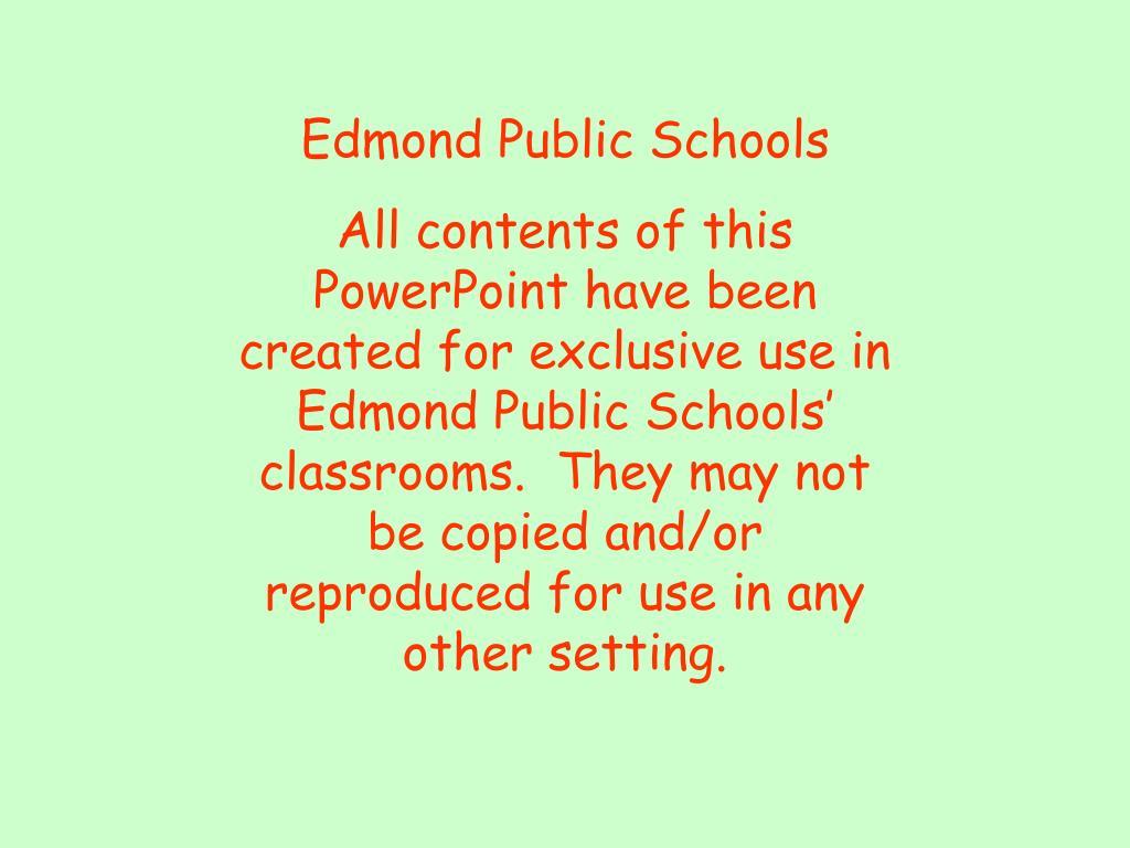 Edmond Public Schools