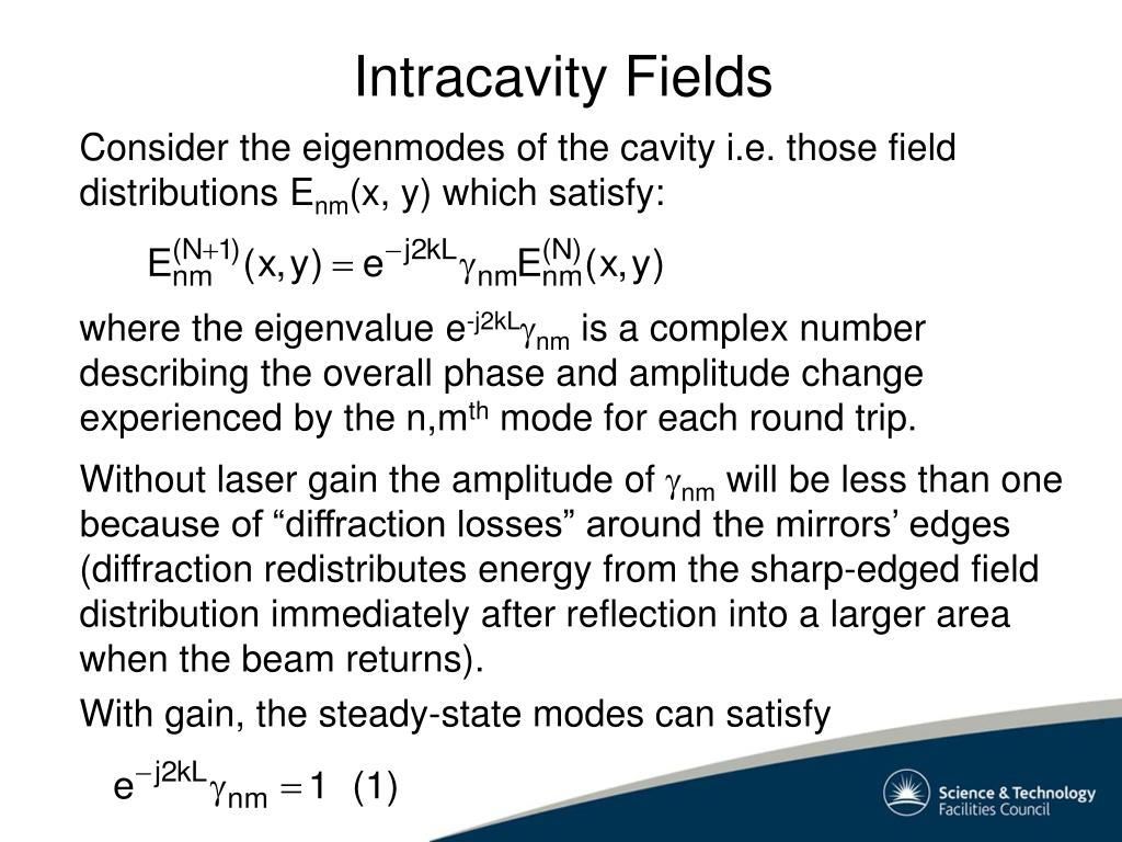 With gain, the steady-state modes can satisfy