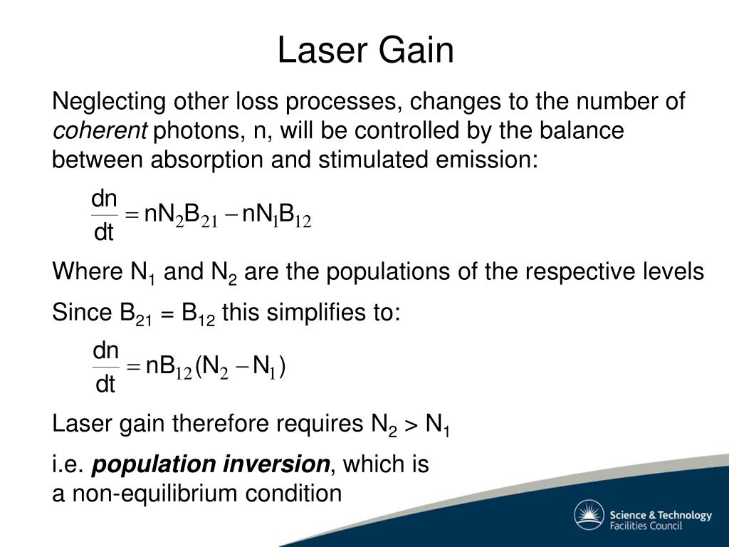 Laser Gain