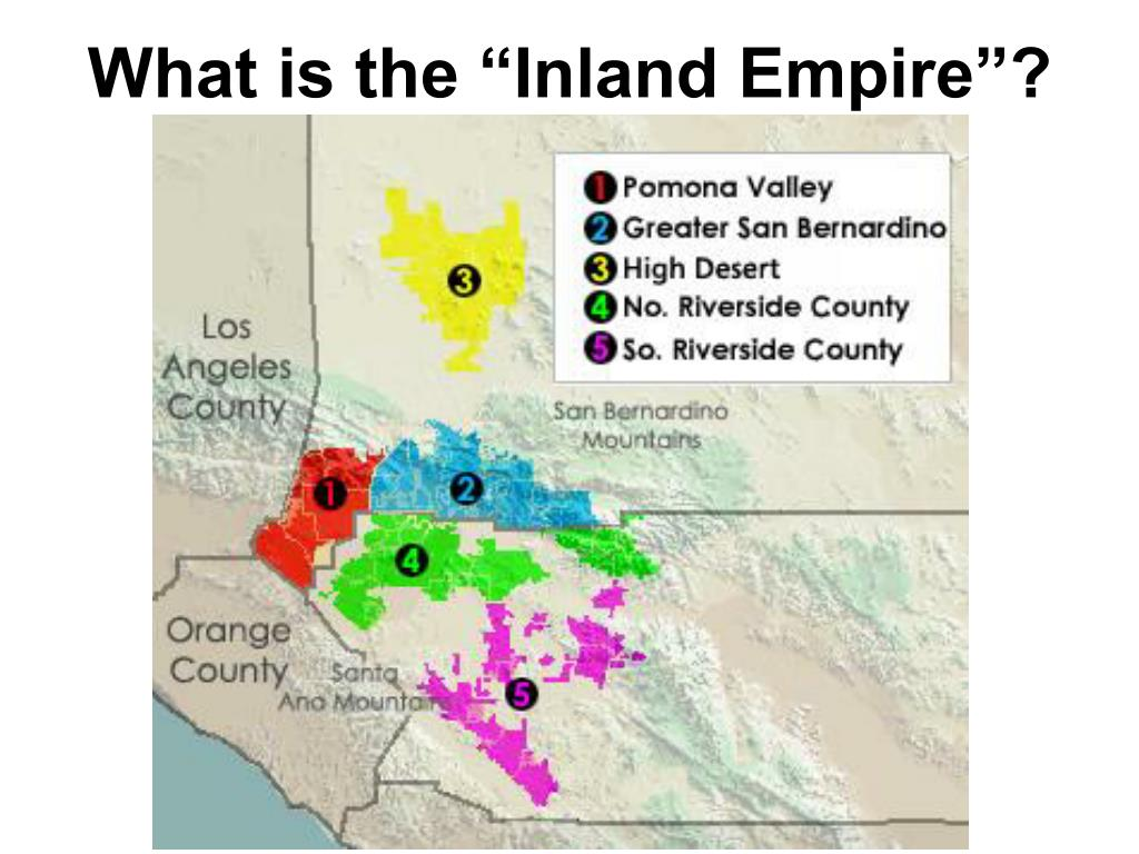 "What is the ""Inland Empire""?"