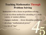 teaching mathematics through problem solving5