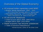 overview of the global economy