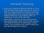 petrodollar recycling