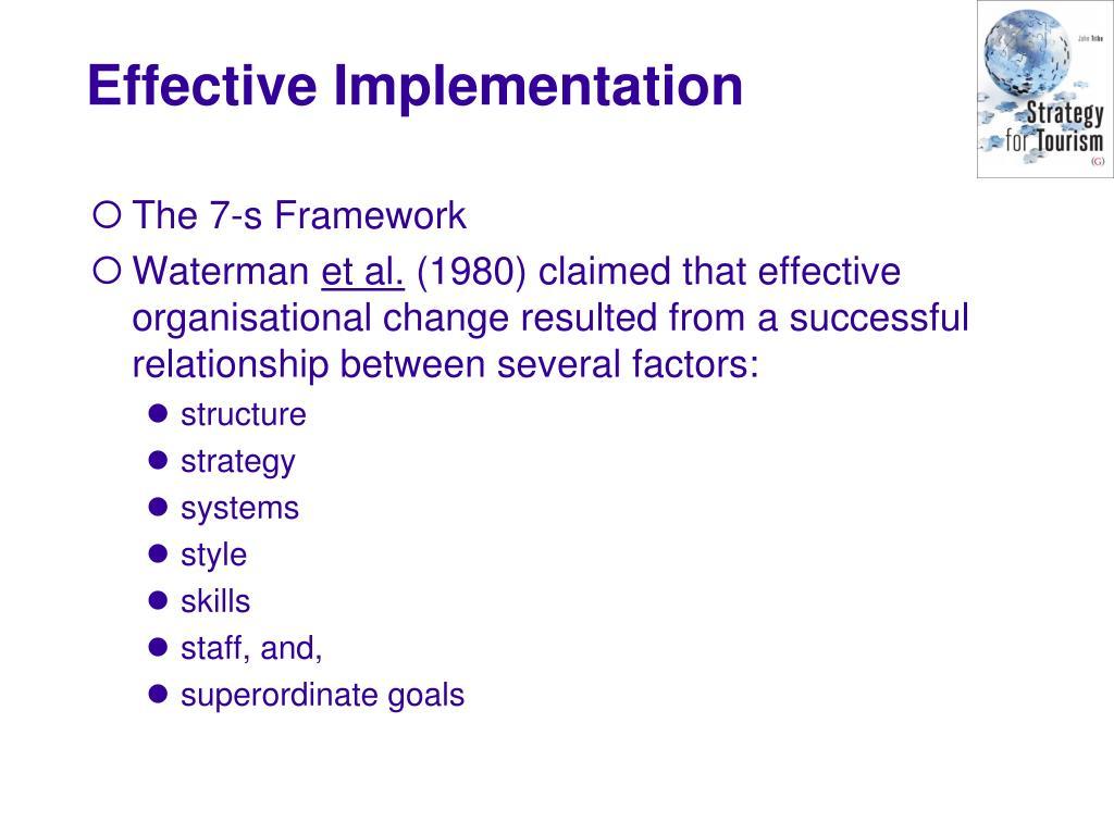 The 7-s Framework
