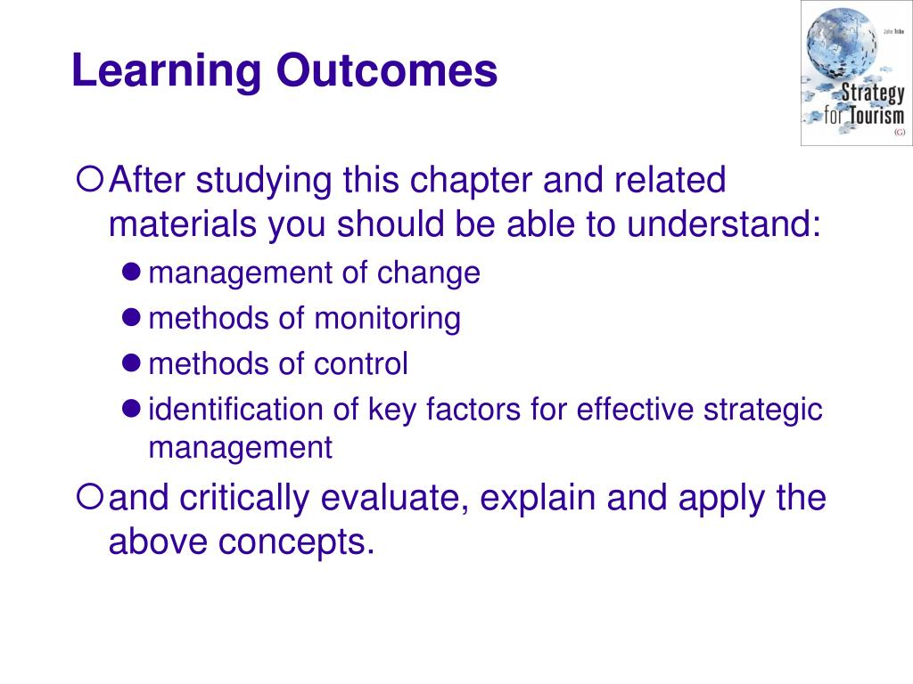 After studying this chapter and related materials you should be able to understand: