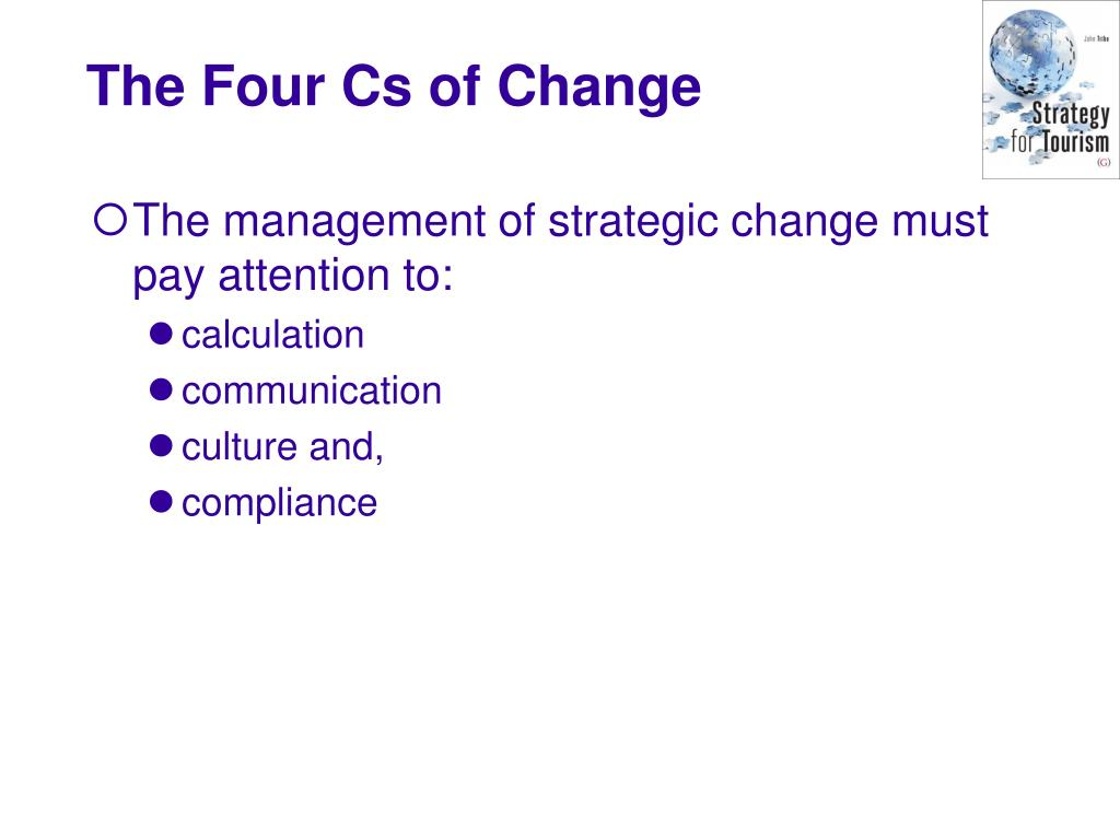 The management of strategic change must pay attention to: