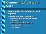 community centered care41
