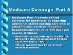 medicare coverage part a
