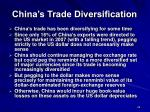 china s trade diversification