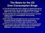 the basis for the us over consumption binge6