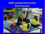 differentiated instruction best practices