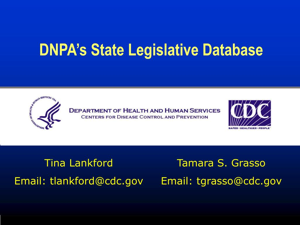 DNPA's State Legislative Database