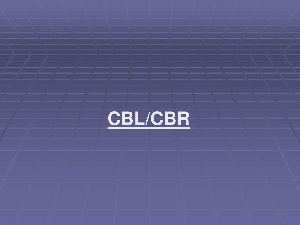 CBL/CBR