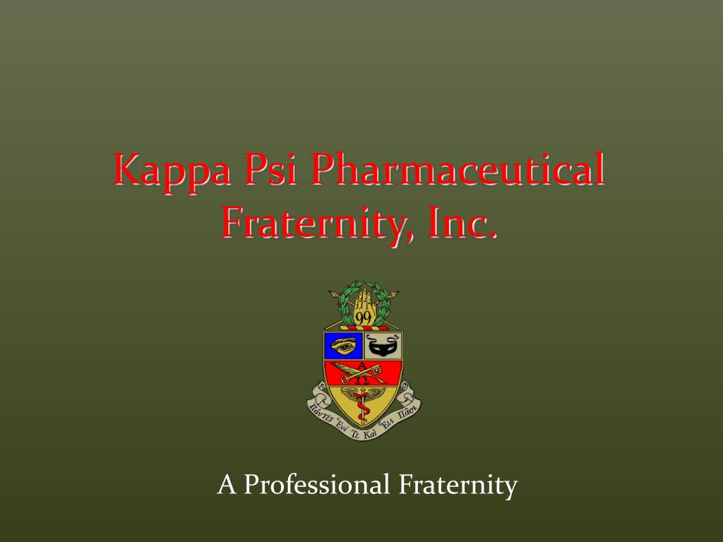 a professional fraternity l.