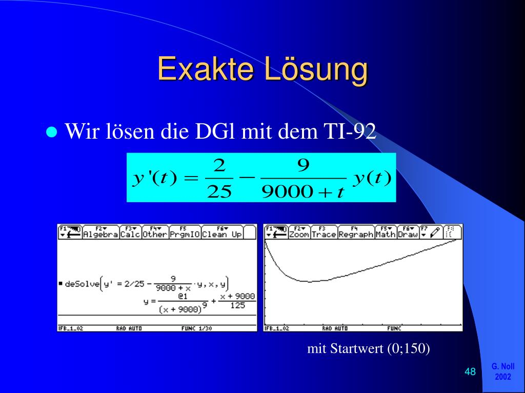 exakte differentialgleichung