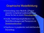 graphische modellbildung