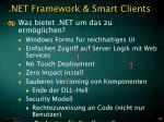 net framework smart clients